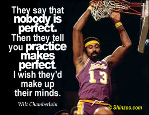 funny basketball quotes wilt chamberlain