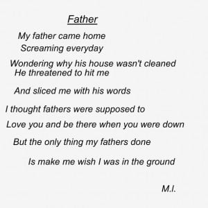 Sad Father Quotes Father Poem Quotes Sad