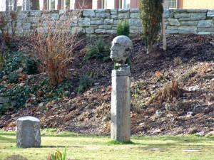 Rostropovich memorial im Schulgarten in Kronberg, by Dontworry via ...
