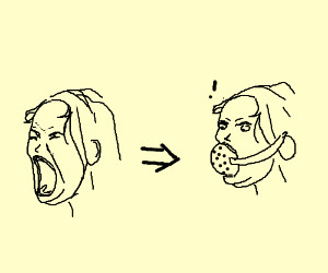 Some people just don't shut up w/out ball gag