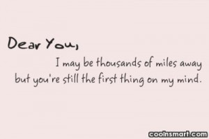 Long Distance Relationship Quotes, Sayings