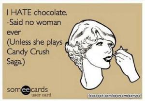 Dang you Candy Crush Saga!