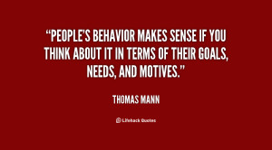 Quotes About Behavior