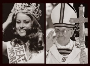 How Pope Francis reminds us of a beauty contestant...