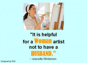 Famous Artist Quotes Husband quotes it is helpful