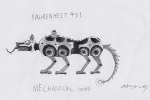 Violence In Fahrenheit 451 Quotes. QuotesGram  Fahrenheit 451 Mechanical Hound Movie