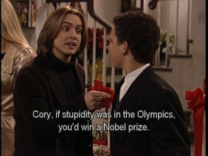 Favorite Boy Meets World Quotes by stacy