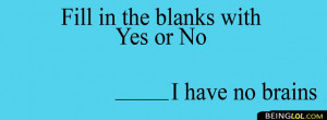 Funny Fill In The Blanks Facebook Timeline Cover