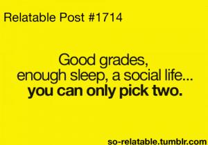 quote life quotes true true story sleep school social sleeping so true ...