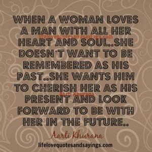 When A Woman Loves A Man..