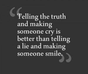 cry, lies, quotes, smile, text, truth