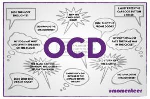 ... kid, I had a terrible case of obsessive-compulsive disorder (OCD