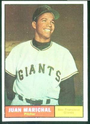 1961 Topps #417 Juan Marichal ROOKIE SHORT PRINT (Giants) Baseball ...