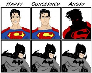 Batman vs Superman (x-post /r/Geekism/) ( i.imgur.com )