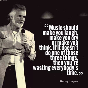 True. Love you Kenny Rogers.