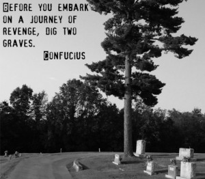 Interesting Quotes About Revenge, Anger and Self-Destruction