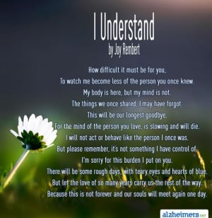 alzheimer 39 s dementia poems