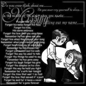 Forget Him Image