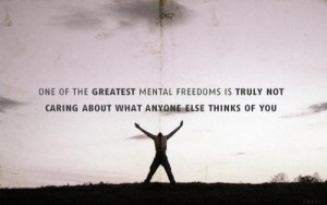do you care too much what people think of you do you adjust your ...