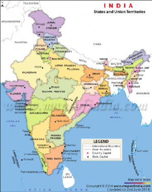China India Pakistan Kashmir Map