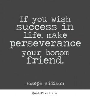 joseph addison success quote canvas art make custom picture quote