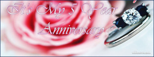 Year Anniversary Facebook Cover