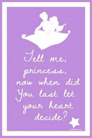 Aladdin- movie quote