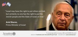 Famous Quotes About Israel : Ariel Sharon : Mike Evans : Jerusalem ...