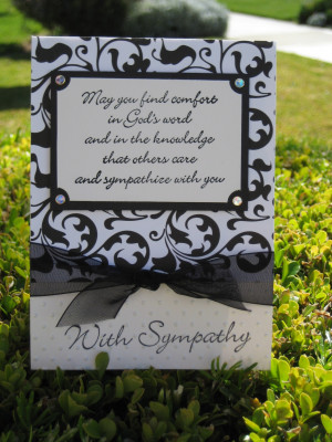 ... To Messages For Flowers Make A Card Quote Funeral Sending