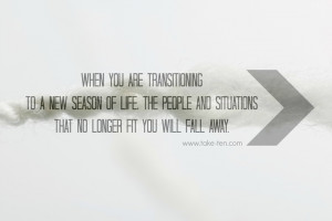 ... will fall away | Quote by Mandy Hale | TakeTen Daily Positive Quotes