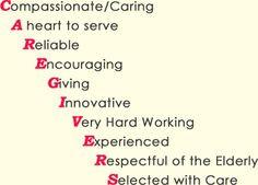 Caregivers... More