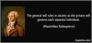 More Maximilien Robespierre Quotes