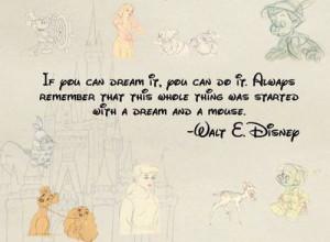 Happy Birthday Dear Mickey Mouse, Walt Disney Quotes, Dream Quotes ...