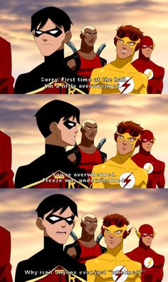 ... that would be when Robin officially became my favorite sidekick. More