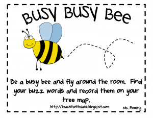 Sayings With The Word Bee http://teachitwithclass.blogspot.com/2011/04 ...