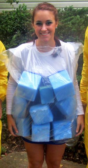 my halloween 2012 costume: breaking bad and blue crystal meth