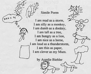 Poetry Tips - Using Simile Poems