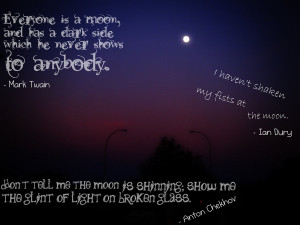 Looking At The Moon Quotes Moon quotes by xxsugar0cubexx
