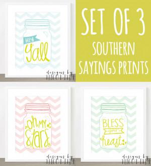 Southern Sayings Southern sayings - handwritten