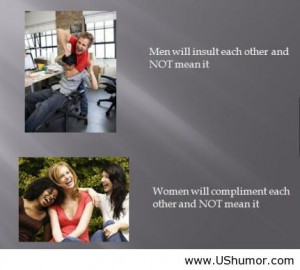 Men and women differences US Humor - Funny pictures, Quotes, Pics, ...