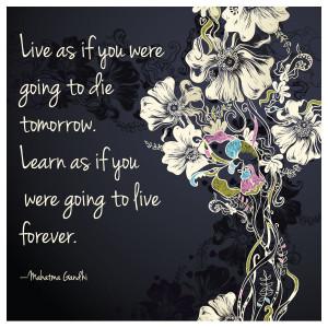 Inspirational Gandhi quote