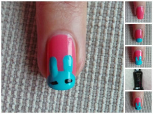 BEAUTY   Cute Easter Nail Art Design check out www ...