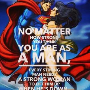superman and wonder women love