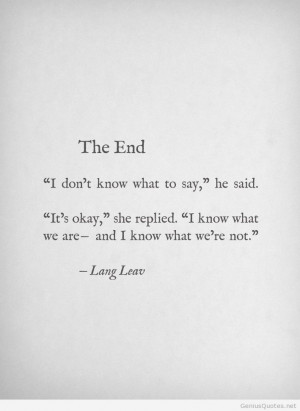 Book Review: Lullabies by Lang Leav