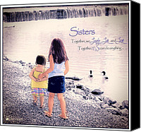 Sister Quotes Canvas Prints and Sister Quotes Canvas Art for Sale