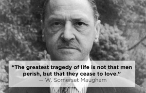 10. W. Somerset Maugham