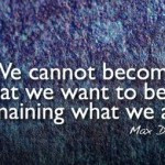 Quote by Max Depree for Facebook Cover