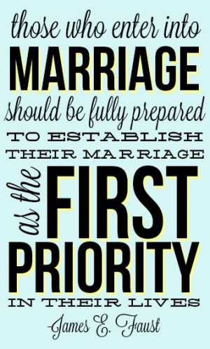 Marriage takes commitment & trust people.. If you're not prepared to ...