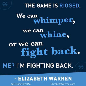 Elizabeth Warren fights back #she quotes #quote #politics #fight # ...