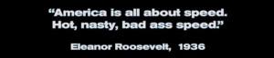 Talladega Nights Quotes Eleanor Roosevelt Talladega nights, eleanor